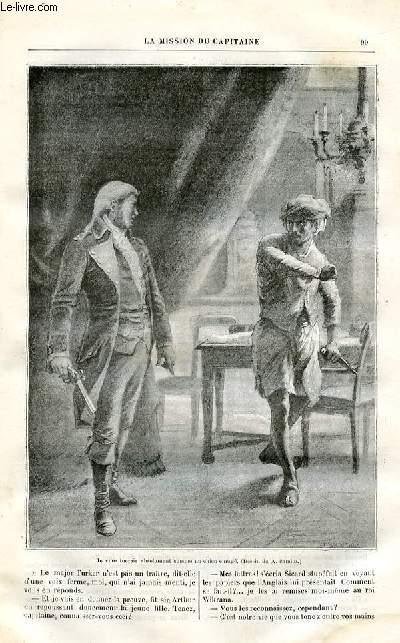 Le musée des familles - lecture du soir -  livraisons n°07 et 08 - La mission du capitaine ,suite par H. de Charlieu.