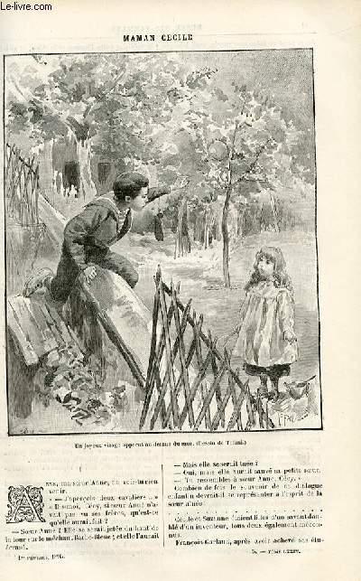 Le musée des familles - édition populaire hebdomadaire  livraison n°05 -  Le lion de Camors,suite par Louis de Caters.