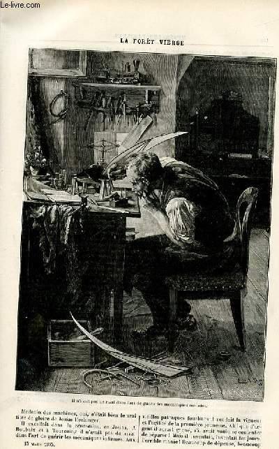 Le musée des familles - édition populaire hebdomadaire -  livraison n°11 - Le lion de Camors,suite par Louis de Carters.