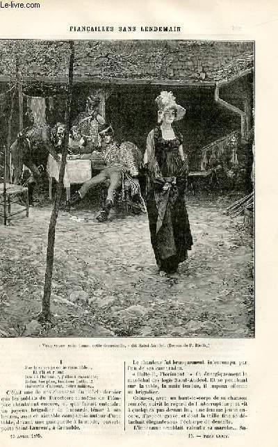 Le musée des familles édition populaire hebdomadaire -  livraison n°15 - La confession d'un roi par Alexis Meunier.