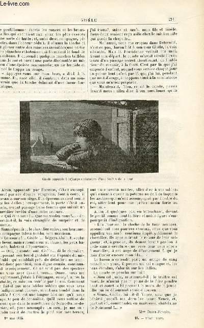 Le musée des familles - édition populaire hebdomadaire -  livraison n°18 - Hugues le Fauve par mArie Cassa.