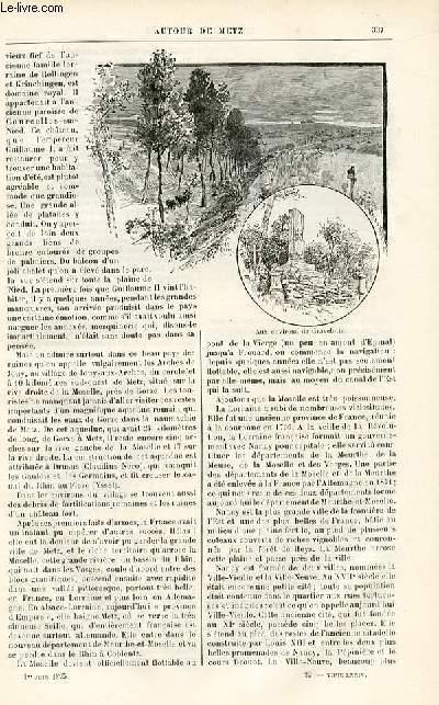Le musée des familles - édition populaire hebdomadaire -  livraison n°22 - Fiançailles sans lendemain par Marie Maéro.