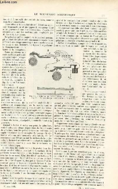 Le musée des familles - édition populaire hebdomadaire -  livraison n°24 - Mémoires d'un mandarin par Eugène Muller,à suivre.
