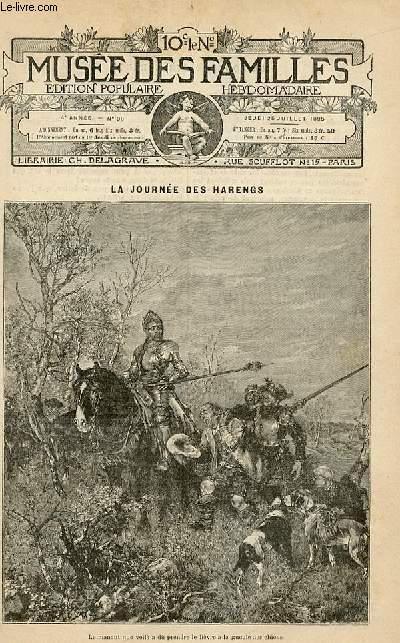 Le musée des familles -  édition populaire hebdomadaire -  livraison n°30 - La journée des harengs par Sixte Delorme.