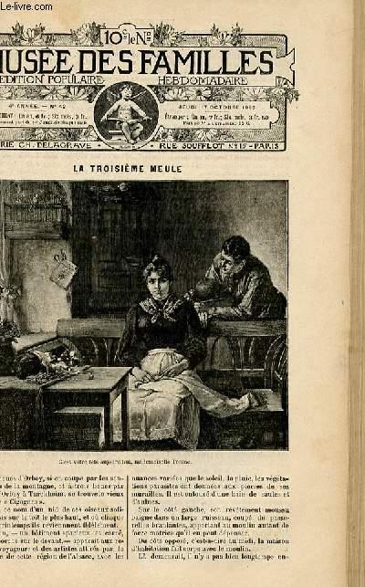 Le musée des familles - édition populaire hebdomadaire-  livraison n°42 - La troisième meule par Marie Améro.