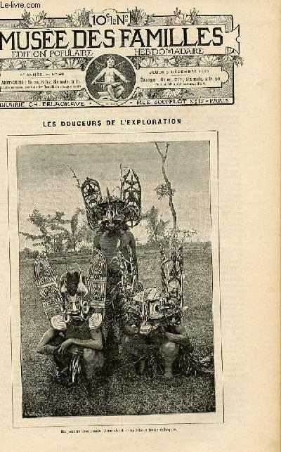 Le musée des familles -  édition populaire hebdomadaire -  livraison n°49 - Les douceurs de l'exploration par Alfred Spont.