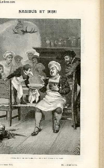 Le musée des familles - lectures du soir - livraisons n°19 et 20 - Nasibus et Mimi,suite par W.H.