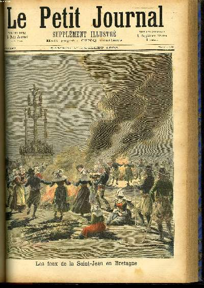 Le petit journal suppl ment illustr num ro 136 les feux de la saint jean - Le journal de bretagne ...