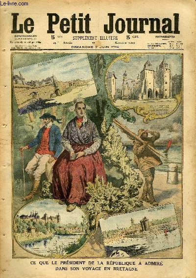 Le petit journal suppl ment illustr num ro 1229 ce que le president de l - Le journal de bretagne ...
