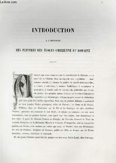 Introduction à l'histoire des peintres des écoles ombrienne et romaine ; Extrait du Tome 1 de l'Histoire des peintres de toutes les écoles.