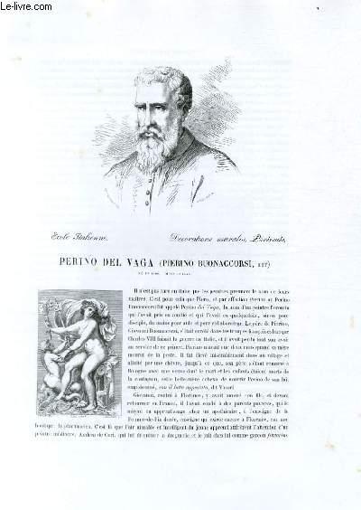 Biographie de Perino Del Vaga