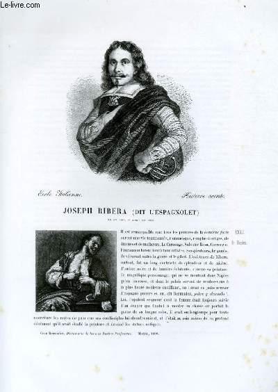 Biographie de Joseph Ribera