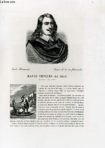 Biographie de David Tenier