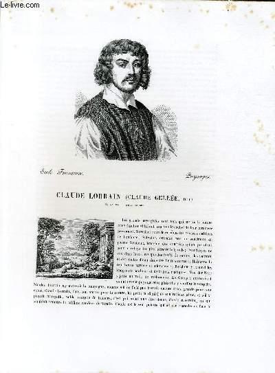 Biographie de Claude Lorrain