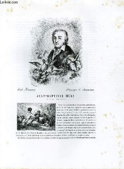 Biographie de Jean-Baptiste Huet (1745-1811) ; Ecole Française ; Paysages & Animaux ; Extrait du Tome 12 de l'Histoire des peintres de toutes les écoles.