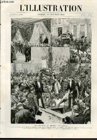 L illustration journal universel n 2537 gravures les obseques du g n ral - Le journal de marseille ...