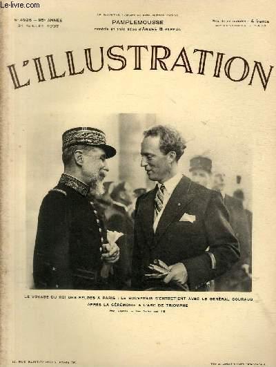 L/'illustration 31 juillet 1937 n° 4926