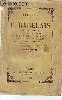 Oeuvres de Rabelais, présenté par L. Jacob