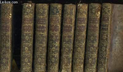 Mémoires de Maximilien de Bethune, Duc de Sully, principal ministre de Henry Le Grand. 8 Tomes
