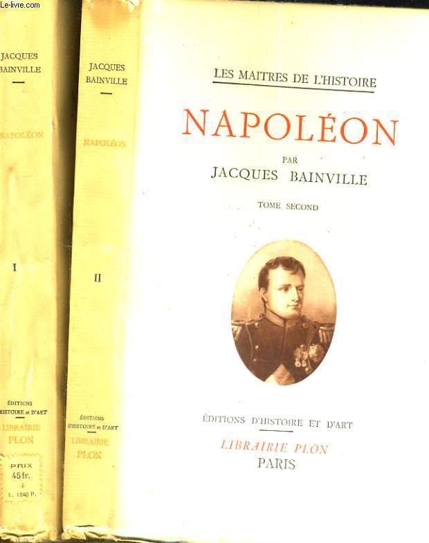 Napoléon. Tome 1 et 2