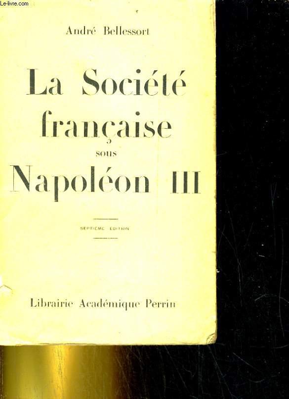 La société française sous Napoléon III