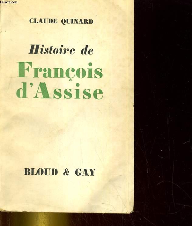 Histoire de François d'Assise