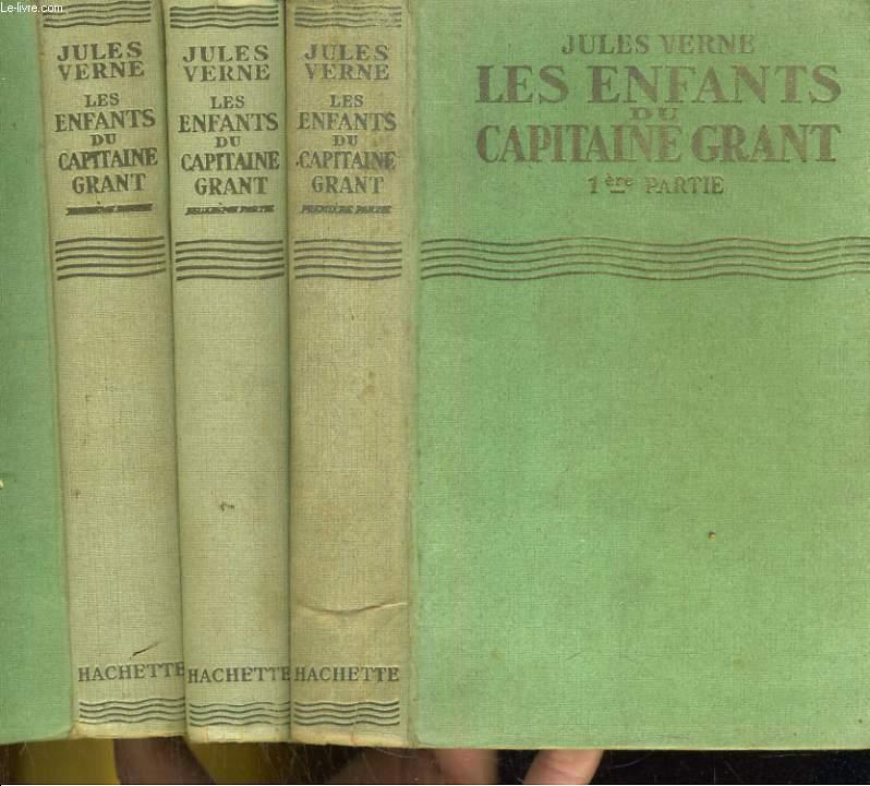 Les Enfants du Capitaine Grant - 1ère, 2e et 3e parties