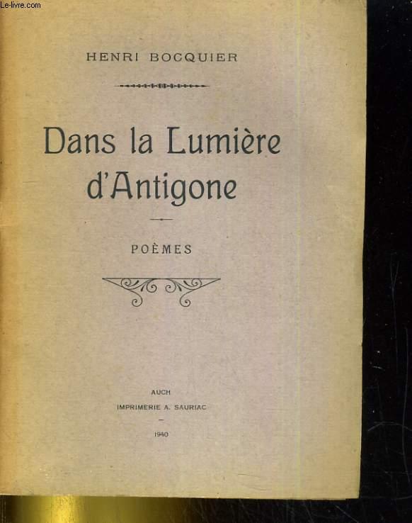 Dans la lumière d'Antigone