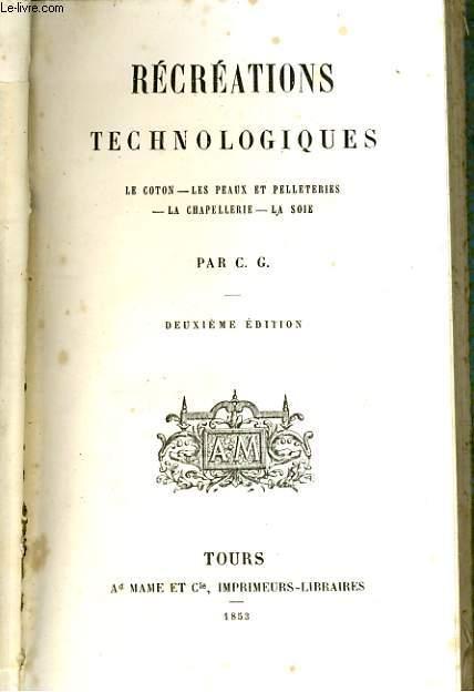 Récréations technologiques