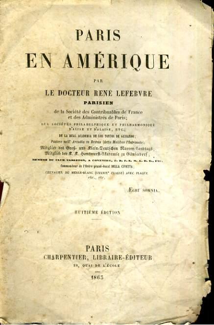 Paris en Amérique