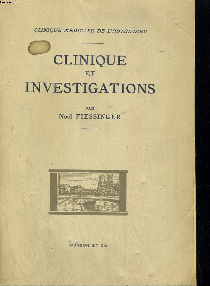 Clinique et investigation