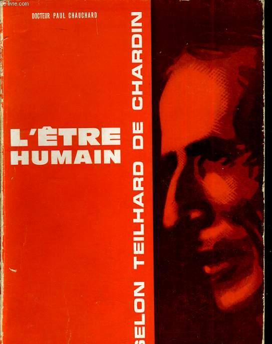 L'être humain selon Teilhard de Chardin
