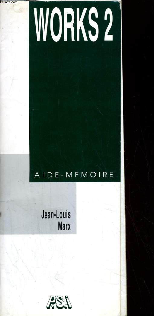 Works 2 Aide-mémoire