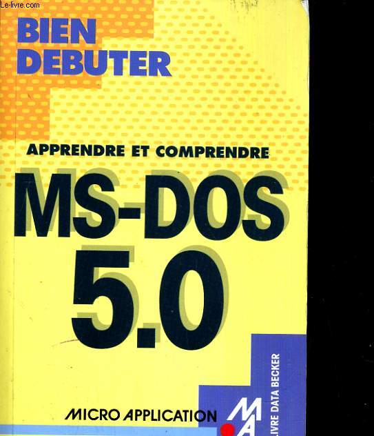 MS-DOS 5.0.
