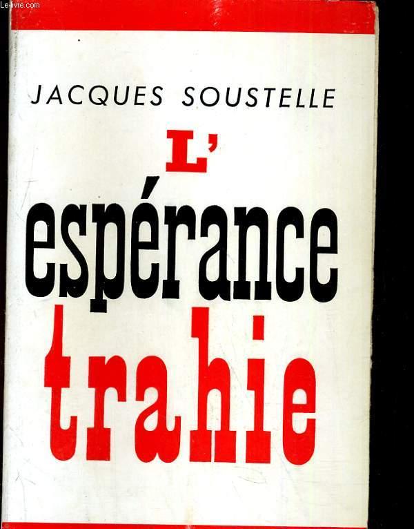 L'espérance trahie (1958-1961)