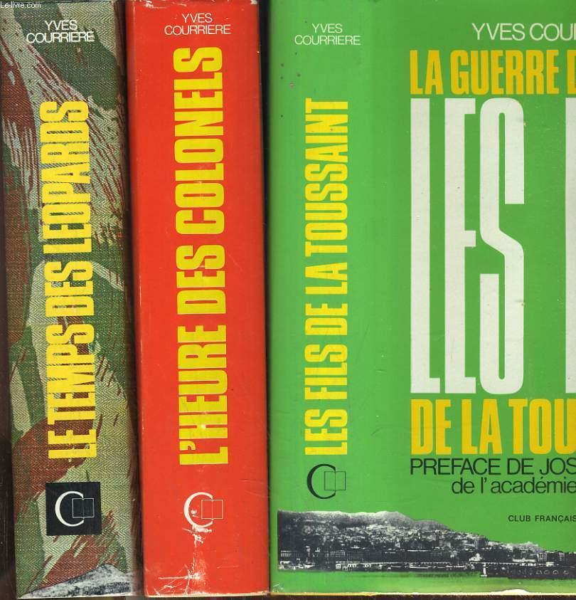 La guerre d'Algérie en 3 tomes