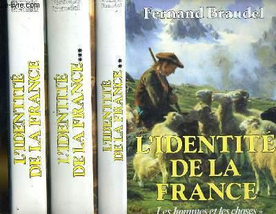 L'identité de la France en 3 tomes.