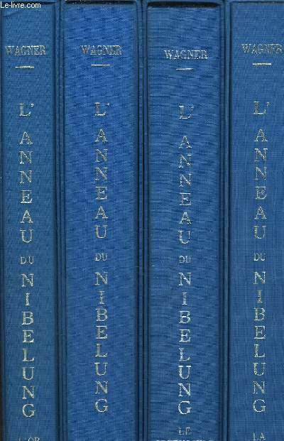 L'anneau du nibelung en 4 tomes
