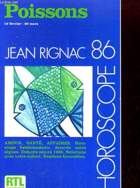 Horoscope 86. Poissons