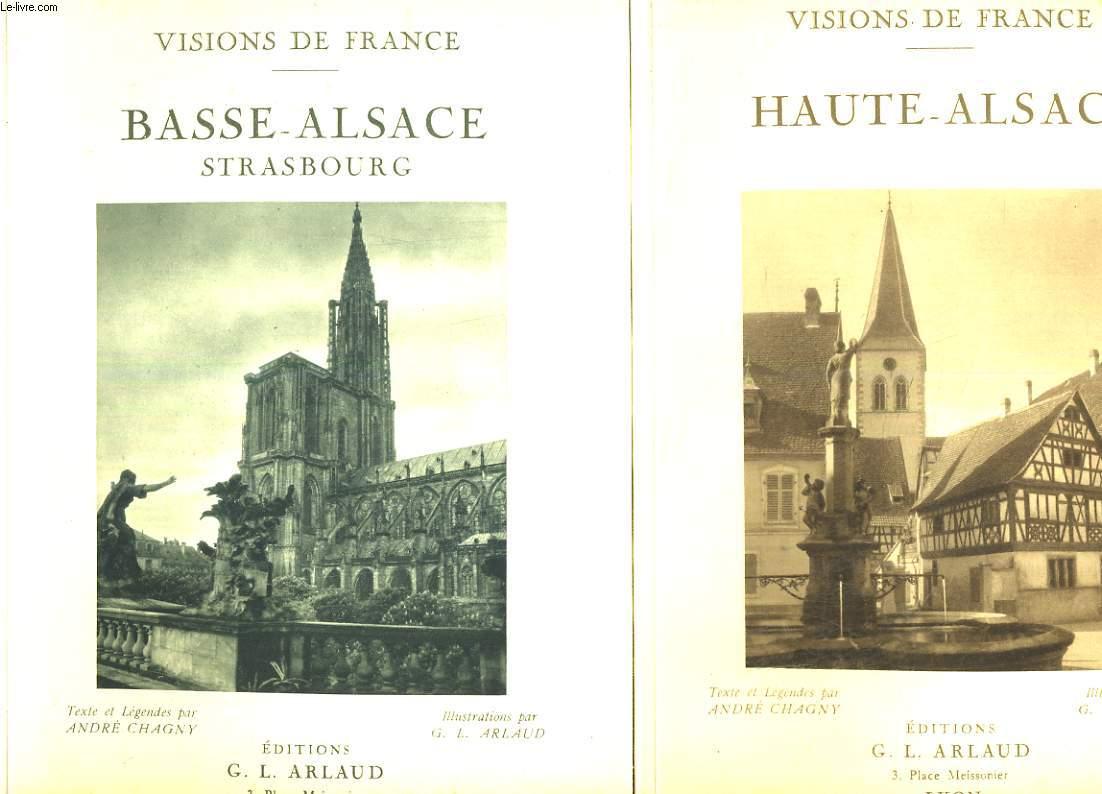 2 tomes : Haute-Alsace et Basse-alsace