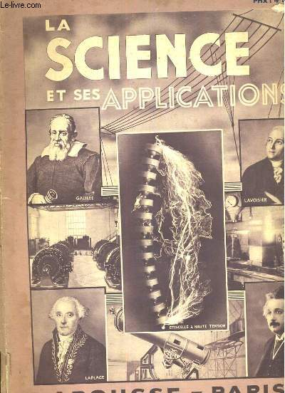 La science et ses applications, fascicule 9. les vibrations et l'acoustique.