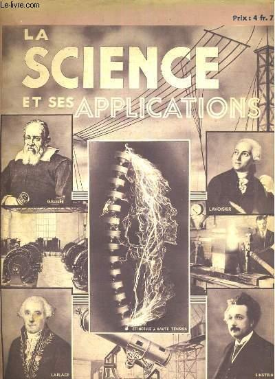 La science  et ses applications, fascicule 12. l'acoustique