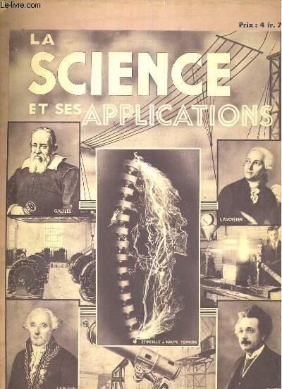 La science et ses applications, fascicule 14. la chaleur, les états de la matière