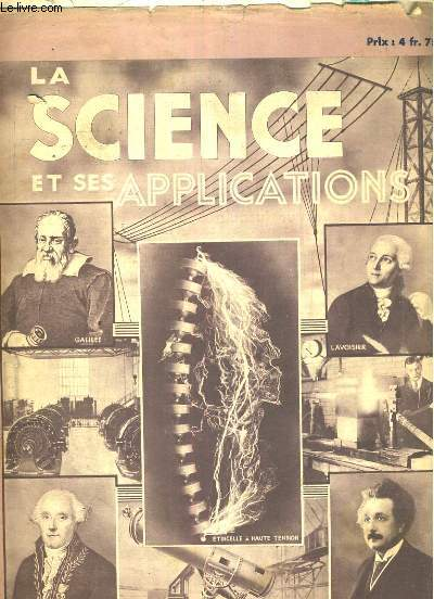 La science et ses applications, fascicule 19