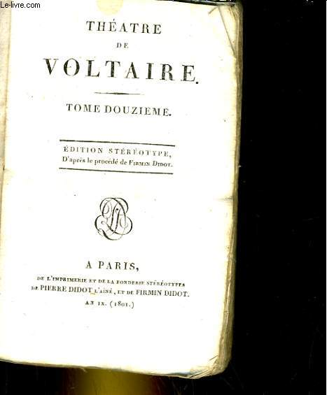 Théatre, tome 12 Irène.