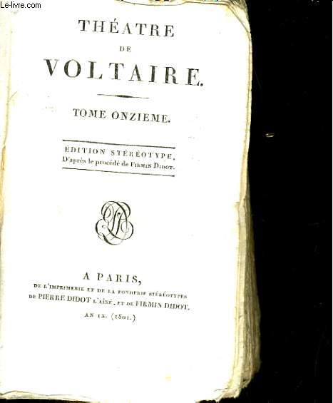 Théatre, tome 11: Sophonisbe