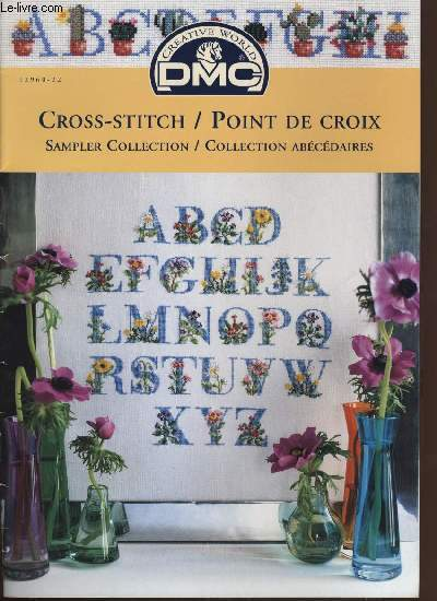 CROSS-STITCH / POINT DE CROIX collection abécédaires