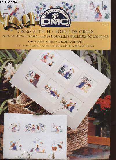 CROSS-STITCH / POINT DE CROIX ; once upon a time / il était une fois