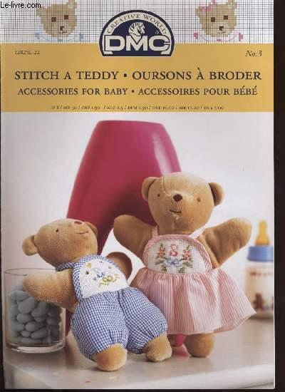 STITCH A TEDDY / OURSON A BRODER