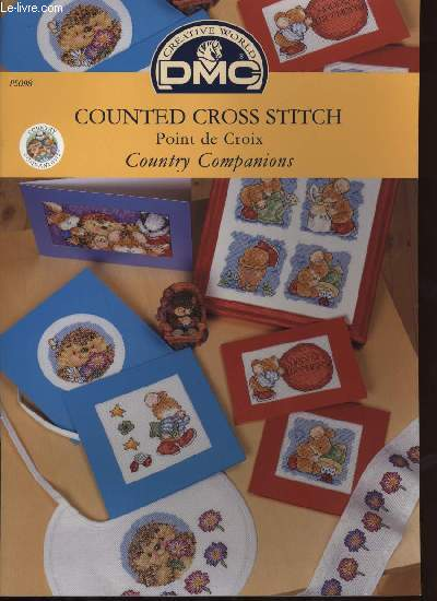COUNTED CROSS STITCH Point de croix Country Companions